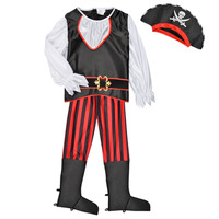 Textiel Jongens Verkleedkleding Fun Costumes COSTUME ENFANT PIRATE TOM Multicolour