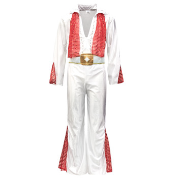 Textiel Heren Verkleedkleding Fun Costumes COSTUME ADULTE ROCK 'N ROLL STAR Multicolour