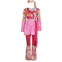 Textiel Dames Verkleedkleding Fun Costumes COSTUME ADULTE HAPPY DIVA Multicolour