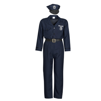 Textiel Heren Verkleedkleding Fun Costumes COSTUME ADULTE OFFICIER DE POLICE Multicolour
