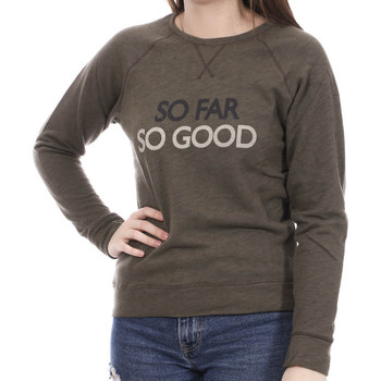 Textiel Dames Sweaters / Sweatshirts Banana Moon  Groen