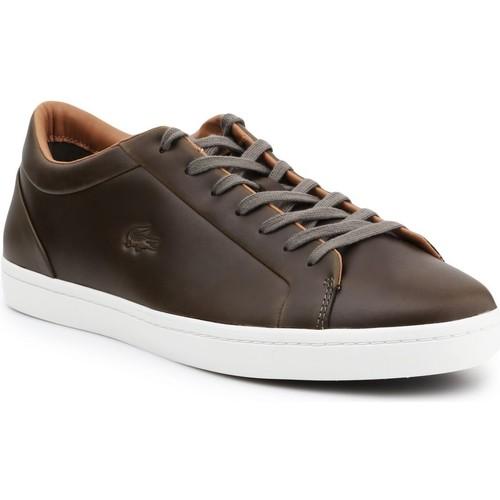 Schoenen Heren Lage sneakers Lacoste Straightset 316 3 CAM 7-32CAM00971X5 brown