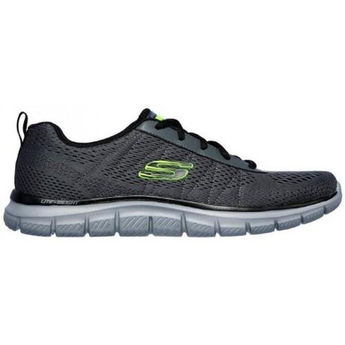 Schoenen Heren Lage sneakers Skechers Track Moulton 232081 Grijs