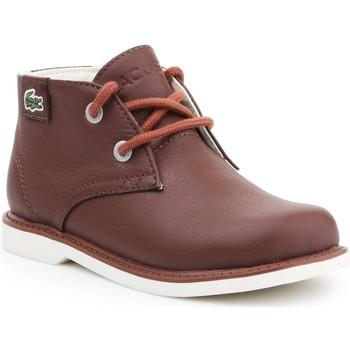 Schoenen Kinderen Laarzen Lacoste Sherbrook HI SB SPC 7-30SPC201177T brown