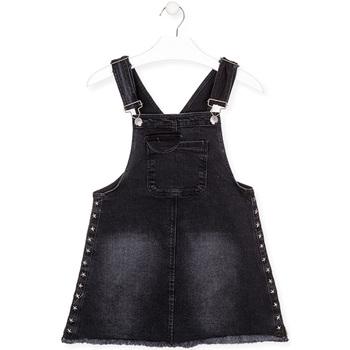 Textiel Meisjes Jumpsuites / Tuinbroeken Losan 024-7000AL Zwart