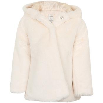 Textiel Meisjes Mantel jassen Losan 026-2795AL Wit