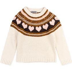 Textiel Meisjes Truien Losan 026-5001AL Wit
