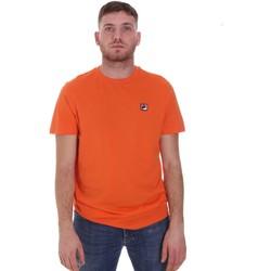 Textiel Heren T-shirts korte mouwen Fila 682393 Oranje