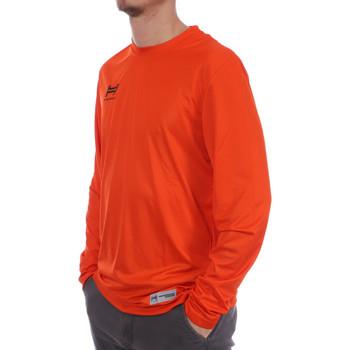Textiel Heren T-shirts met lange mouwen Hungaria  Oranje