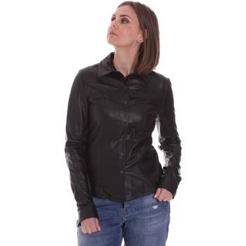 Textiel Dames Overhemden La Carrie 092P-C-110 Zwart