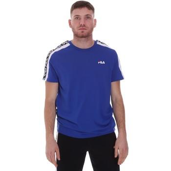 Textiel Heren T-shirts korte mouwen Fila 687700 Blauw