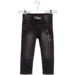 Textiel Kinderen Straight jeans Losan 025-6029AL Zwart