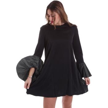 Textiel Dames Jurken Jijil JPI19AB380 Zwart