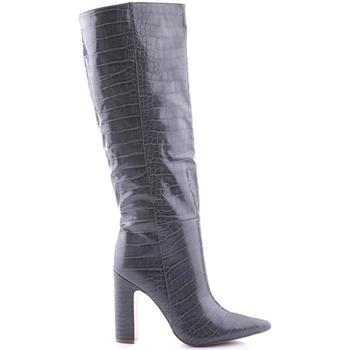 Schoenen Dames Laarzen Steve Madden SMSROUGE-GRYCRO Grijs