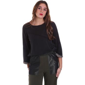 Textiel Dames Sweaters / Sweatshirts Jijil JPI19TS341 Zwart