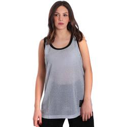 Textiel Dames Mouwloze tops Converse 10007415 Grijs