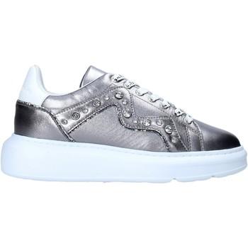 Schoenen Dames Sneakers Manila Grace S016LW Zilver
