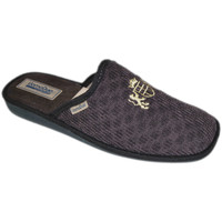 Schoenen Heren Leren slippers Uomodue By Riposella UD857mar marrone