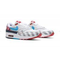 Schoenen Lage sneakers Nike Air Max 1 x Parra White/Pure Platinum