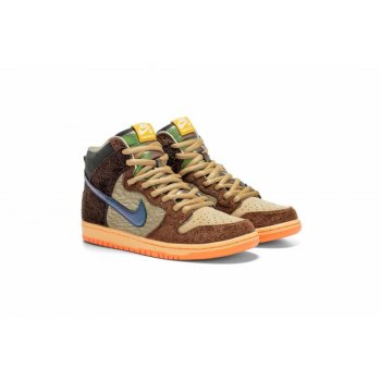 Schoenen Lage sneakers Nike SB Dunk High x Concepts