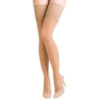 Ondergoed Dames Panty's/Kousen Gabriella 201-EXCLUSIVE BEIGE Beige