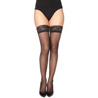 Ondergoed Dames Panty's/Kousen Gabriella 203-LINETTE NERO Zwart
