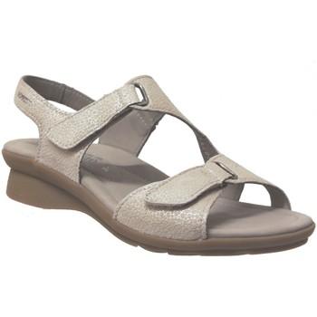Schoenen Dames Sandalen / Open schoenen Mephisto PARIS Beige / platina
