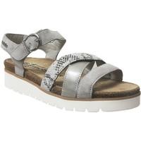 Schoenen Dames Sandalen / Open schoenen Mobils By Mephisto Thina Grijs
