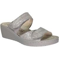 Schoenen Dames Leren slippers Mobils By Mephisto Paula Beige