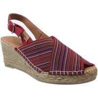Schoenen Dames Espadrilles Toni Pons Teia Meerkleurig rood