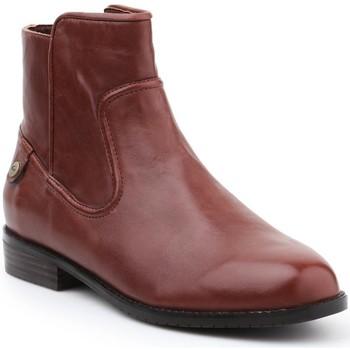 Schoenen Dames Enkellaarzen Lacoste lifestyle 30SRW0020 brown