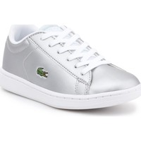 Schoenen Kinderen Lage sneakers Lacoste kids 7-34SPC0006334 silver