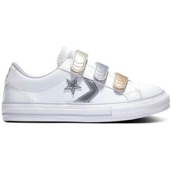 Schoenen Kinderen Lage sneakers Converse Star player 3v ox Wit