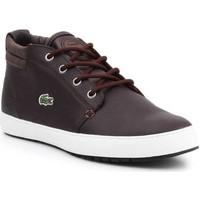 Schoenen Dames Hoge sneakers Lacoste 7-28SPW1126D2 brown