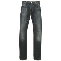 Textiel Heren Straight jeans Levi's 504 REGULAR STRAIGHT FIT Blauw / Donker
