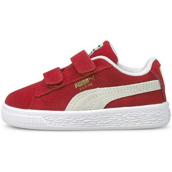 Schoenen Kinderen Lage sneakers Puma Suede classic xxi v inf Rood