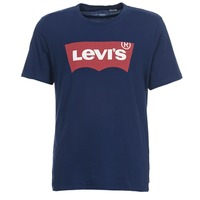 Textiel Heren T-shirts korte mouwen Levi's GRAPHIC SET IN Marine