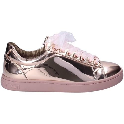 Schoenen Dames Sneakers Fornarina PIFAN9607WPA5100 Roze