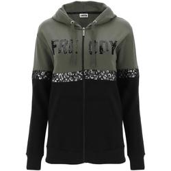 Textiel Dames Sweaters / Sweatshirts Freddy F0WCLS5 Groen