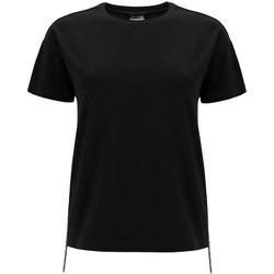 Textiel Dames T-shirts korte mouwen Freddy F0WSDT5 Zwart