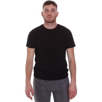 Textiel Heren T-shirts korte mouwen Sseinse MI1692SS Zwart