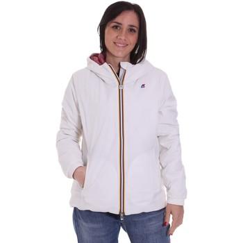 Textiel Dames Wind jackets K-Way K00A2F0 Wit