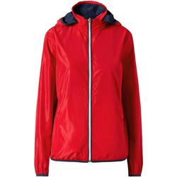 Textiel Dames Wind jackets Ea7 Emporio Armani 3ZTB03 TN18Z Rood