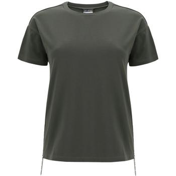 Textiel Dames T-shirts korte mouwen Freddy F0WSDT5 Groen