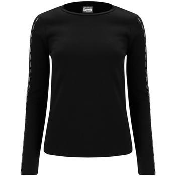 Textiel Dames T-shirts met lange mouwen Freddy F0WSDT6 Zwart