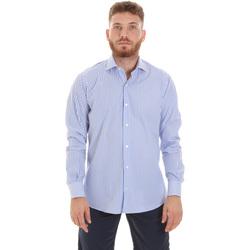 Textiel Heren Overhemden lange mouwen Les Copains 20P.623 P3196SL Blauw