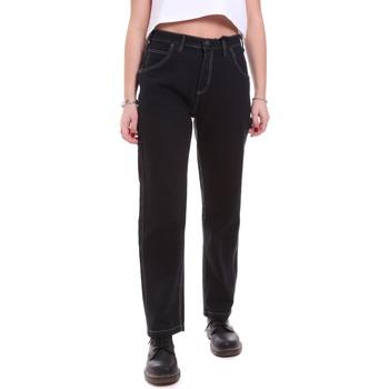 Textiel Dames Jeans Dickies DK133004BLK1 Zwart