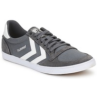 Schoenen Heren Lage sneakers Hummel TEN STAR LOW CANVAS Grijs / Wit