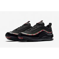 Schoenen Lage sneakers Nike Air Max 97 x Underfeated Black Black/Gorge Green/White-Speed Red