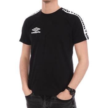 Textiel Heren T-shirts korte mouwen Umbro  Zwart